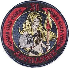 Patch Aufnäher Marine Artillerie - Kimme und Korn immer nach vorn .........A4560