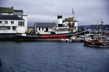 PHOTO  1989 FALMOUTH STEAM TUG ST DENYS SHE WAS PRESERVED FOR SEVERAL YEARS AT C
