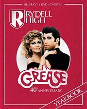 Grease 40th Anniversary Edition Rydell High Yearbook Blu-ray 2018 Musical