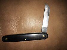 Vintage Rare Canaco SWITZERLAND Single Stainless Steel Blade POCKET KNIFE