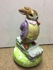 Beatrix Potter Old Mr. Bunny Music Box - by Schmid