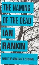 Ian Rankin The Naming of the Dead, New Paperback
