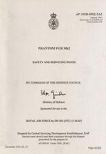 McDONNELL PHANTOM FGR Mk 2 - SAFETY AND SERVICING MANUAL - AP 101B-0902-5A2
