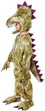 Dinosaur Unisex Childrens Fancy Dress Costume, All in One + Headpiece,Boys/Girls