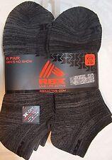 Reebok RBX No Show Socks 6 Pairs X-DRI Size 10-13