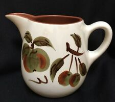 Vintage STANGL Pottery ORCHARD SONG Pattern Pitcher