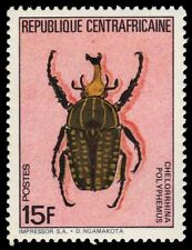 "CENTRAL AFRICAN REPUBLIC 706 - ""Chelorrhina polyphemus"" Beetle (pf13622)"