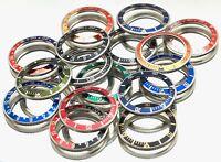 AM-Watches Bezel for Vostok & AM-DIVER Watches Stainless Steel Aluminium Insert
