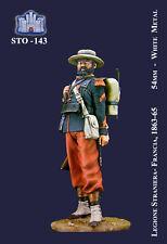 LA FORTEZZA SCALE MODEL STO-0143 - LEGIONE STRANIERA FRANCIA 1863 - 54mm METAL
