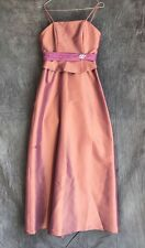 Girls Bridesmaid/prom Party Dress Age 14 By Mark Lesley Light Plum RRP £155