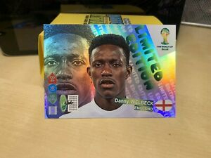 Danny Welbeck Limited Edition Adrenalyn Xl 2014 World Cup Mint