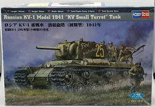 HobbyBoss Scale Model Tank Russian KV -1 Model 1941 KV Small Turret 1:48
