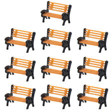 Yz150 10pcs Model Train 1:150 bench chair settee N Z