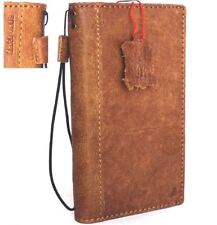 genuine vintage leather Case for samsung galaxy note 8 book wallet soft cover uk