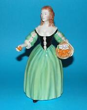 FRANCESCA ART CHINA figurine king charles II Mistress 'Nell Gwynn' 1st quality