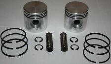 Harley 45 Flathead NEW +.050 piston set 2 pistons, rings, pins, snap rings (294)