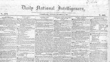 REWARD OF $40 FOR RUNAWAY NEGRO WOMAN AND MAN 1828 NEWSPAPER SLAVE REWARD ADS