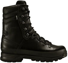 Lowa Combat boot GTX, dimensioni 6-12 1/2, Task Force, Montagna Scarpa, inserto Stivali, Nero