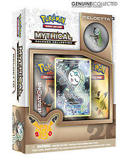 Meloetta Mythical Generations Pokemon Cards Pin Box | Holo + 2 Booster Packets