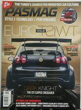 Pasmag Aug Sept 2016 Euro Twist Issue Dark Knight GTI Crusader FREE SHIPPING sb