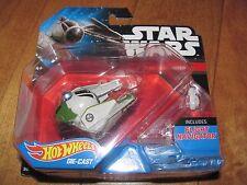 HOT WHEELS 2015 Star Wars Yoda's Jedi Starfighter with Flight Navigator NEW