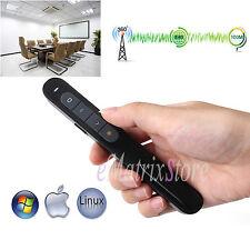 RF 2.4GHz Wireless USB PowerPoint PPT Presenter Remote Control Laser Pointer Pen