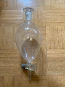 Scheidetrichter 1000 ml Bistabil NS 29/32 Duran Schott Mainz Jena Glas