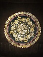Decorative Centerpiece Plate. Heavy 14� Round.