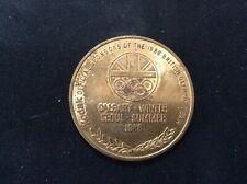 Seoul winter  - commemorative olympic - medallion - Kodak