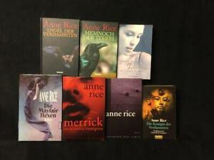SAMMLUNG PAKET - 7 Romane von ANN RICE - Mayfair Hexen Memnoch u.v.a.