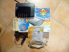 AVM Fritzbox WLAN 3030 1&1-Version 2 bis 125 MBit/s, WPA2, Repeater OVP