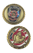 St. Johns Fire Rescue Challenge Coin