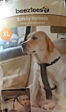Beeztees Dog Car SAFETY HARNESS. EXTRA LARGE. USE WITH LEAD FOR WALKING.