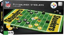 MasterPieces NFL Pittsburgh Steelers Team Checkers