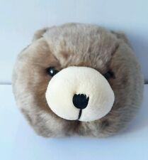 Plush Peluche Pupazzo Morbido Soft Toys Testa Orso Bear 17X15 Cm Teddy