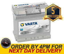 063 Varta C6 Silver Car Battery 12V 5 Yr Wty fits many Suzuki Toyota Vauxhall VW