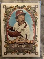 2020 Topps Allen & Ginter MIKE SCHMIDT *RIPPED* Rip Card 37/75  PHILLIES