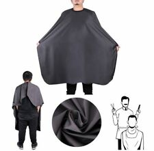 Barbers Hair Cutting Hairdressers Salon Waterproof Gown Cape Black
