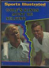 Sports Illustrated June 1 1970 Arnold Palmer Jack Nicklaus Golf MBX33