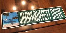Metal sign Jimmy Buffet Drive Souvenir Street Sign Margaritaville