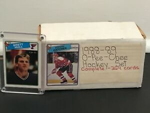 1988 89 OPC NHL Hockey Complete Card Set Includes Brett Hull Rookie RC