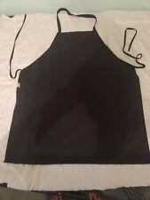 Lot of 5 Employee Uniform 2 Red 3 Black Apron Restaurant Cook Costume