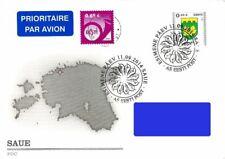 Estonia 2014 (19) Definitive Stamp - Coat of Arms - Saue (fdc)