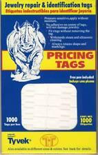 1000 White Adhesive Multi-Purpose Pricing Square Labels Ta 720+Pen