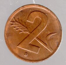 2 Rappen Schweiz 1948 B in fast unzirkuliert