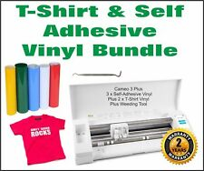 Silhouette Cameo 3 Vinyl Cutting Machine,T-Shirt & Sign Making Bundle