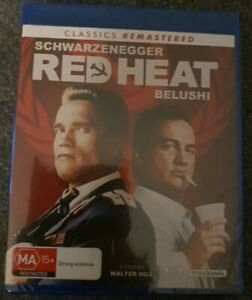 RED HEAT (CLASSICS REMASTERED) (1988) BRAND NEW SEALED