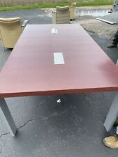 Haworth 8 Foot Powered Conference Table 6 Available
