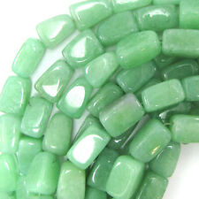 "18mm green aventurine nugget beads 15"" strand"