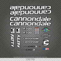 CANNONDALE Lefty Fork Decal 2014 Factory Style Sticker Adhesive Mtb Black